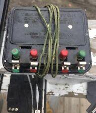 American Flyer O Gauge Remote Control Switch Set w/ Vintage 4180 Controller Etc