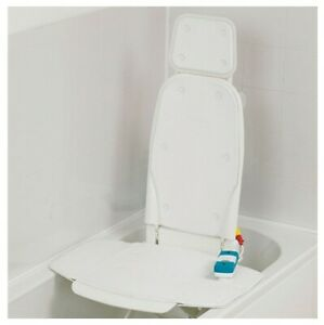 Bathmaster Sonaris Bath Lift Cover With Flaps And Clips, White