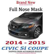Genuine OEM Honda Civic 2dr Coupe Full Nose Mask 2014 - 2015 Si only