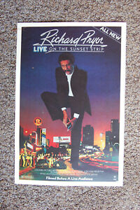 Richard Pryor Stand Up promotional Poster 1982 on the sunset strip