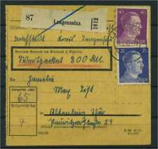 Paketkarte 1943 LANGENSALZA siehe Beschreibung (117422)