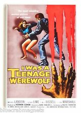 I Was a Teenage Werewolf FRIDGE MAGNET (2.5 x 3.5 inches) movie poster