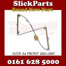 AUDI A4 WINDOW REGULATOR (NOT CAB) 2001 2002 2003 2004 2005 2006 2007 *NEW*