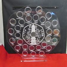 50p pence coin hunt album kew gardens stand olympic 2012 50p display holder