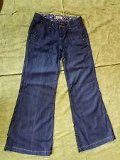 Paige Palisades Lightweight Wide Leg Denim Trousers jeans Size 26