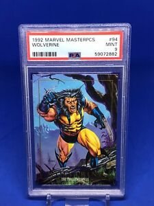 1992 Marvel Masterpieces Wolverine PSA 9 #94 X-Men