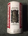 BURGERMEISTER STRAIGHT STEEL BEER CAN PETER HAND CHICAGO IL BOTTOM OPENED