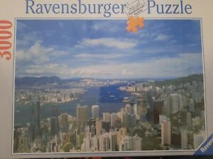 Ravensburger 3000 Piece Jigsaw Puzzle Hong Kong Skyline Sealed 121x80cm No170166