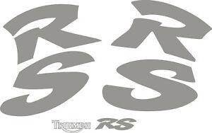 Triumph RS Sprint vinyl stickers