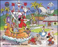 Grenadines of Grenada 1988 Disney/Christmas/Dumbo/Peter Pan/Alice 1v m/s (b799a)