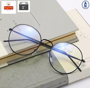 Anti Blue Light Retro Glasses Eye Protection Smartphone Sight Filter Bluelight