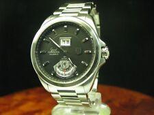 Tag Heuer Grand carrera calibre 8 acero inoxidable Automatic reloj Hombre/ref wav5111