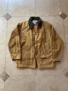 VTG LL Bean Canvas Hunting Chore Jacket Size 42 Large