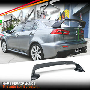 Evolution Style ABS Rear Trunk Wing Spoiler for Mitsubishi Lancer Sedan CJ CF CY