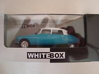 NEW MINIATURE CITROEN DS 19 1966 WHITEBOX BICOLORE 1/43   NEUF EN BOITE