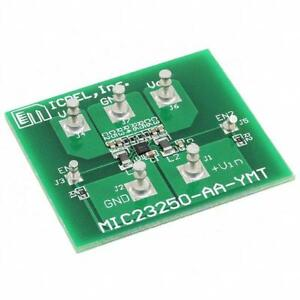 1 x Micrel Evaluation Board MIC23250-AAYMT 4MHz 400mA Synch Step-Down Regulator
