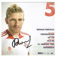 Ronald Gercaliu   AK RB Salzburg / Österreich  mit original Unterschrift