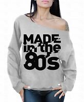 MADE in the 80's Off the shoulder oversized slouchy sweater sweatshirt