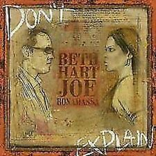 Beth Hart & Joe Bonamassa - Don'T Explain Nuevo CD