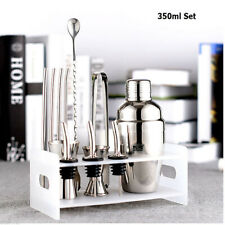 Stainless Steel Martini Boston Cocktail Shaker Set Kit 750ml Jigger Mixer Bar AU
