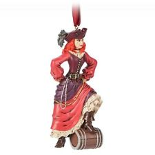 Disney Parks NEW Pirates of the Caribbean Red Head Figure Ornament D14