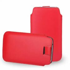 #2 Pull Up Tab Strap Leather PU phone bags cases 13 colors Pouch Case For Huawei
