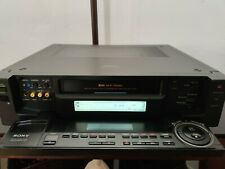 Sony Slv-R1000 Super S-Vhs Player Recorder HiFi Stereo Ntsc Editing Good Working