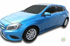DME23282 MERCEDES A CLASS W176 5DOOR 2012-up WIND DEFLECTORS 4pc HEKO TINTED