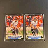 JIMMY GAROPPOLO 2014 UPPER DECK #62 STAR ROOKIES RC (2-CARD LOT) 49ERS (B)