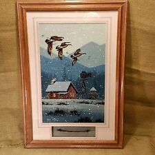Roger Flythe Acrylic Painting Madison Wisconsin Rocky Mountain Elk Signed
