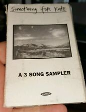 Something For Kate  - 3 Track Sampler PROMO RARE - CASSETTE TAPE  -FREE POST
