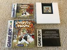 Harvest Moon GBC 2 (Nintendo Game Boy Color, 2000) GBC COMPLETE
