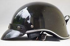 Motorradhelm für Chopper Schwarz Gr. L / 59-60 cm