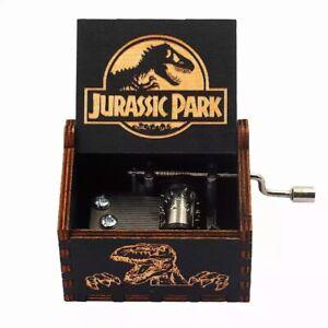Jurassic Park World Music Box Theme Dinosaurs Gift New