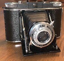 Ansco Binghamton Standard Speedex  camera.w/ 90mm f:6.3 lens w/  Leather  Case