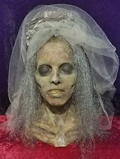 Halloween Horror Zombie Death Bride Prop Head & Hands - SCARY!