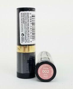 Lot of 2 Revlon Super Lustrous Matte Lipstick #002 Pink Pout