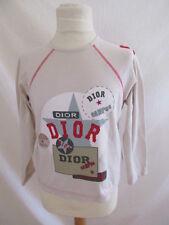 T-shirt Christian Dior Beige Taille 8 ans à - 69%
