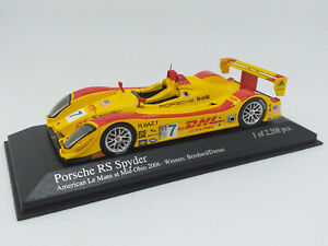 MINICHAMPS 1:43 - PORSCHE RS SPYDER American Le Mans at Mid Ohio 2006 400066507