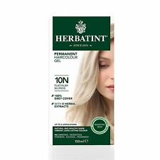 Herbatint Herbal Ammonia Hair Colour 150ml Platinum Blonde 10n