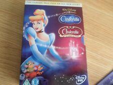 DISNEY CINDERELLA  DVD BOX SET CINDERELLA & TWIST IN TIME FREE UK POST