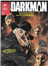 DARKMAN 1 MAGAZINE JOE JUSKO COVER OFFICIAL COMICS HORROR MOVIE SUPER SPECIAL
