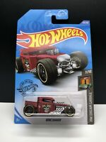 2020 Hot Wheels #135 HW Dream Garage 7/10 BONE SHAKER Satin Red w/Black VHTF New