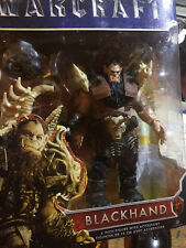 "Blackhand World of Warcraft 6"" Action Figure with Hammer & Bones N-I-B ; NEW"
