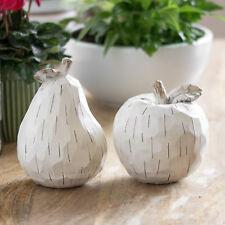 Rustikales Vintage Apfel Birne Obst Ornamente Wohnambiente Deko Artikel Objekt Kunst