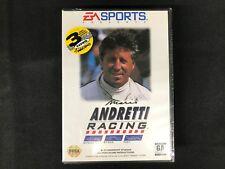 Mario Andretti Racing (Sega Genesis, 1994) Brand New Factory Sealed