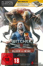 The Witcher 3 Wilde Jagd Blood And Wine PC *NEU & OVP* + GWINT KARTEN Add-On