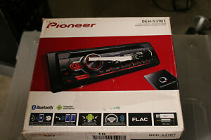 Pioneer DEH-S31BT CD Receiver with Bluetooth, Single DIN, In-Dash