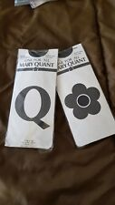 Mary Quant Sheer Nude Stockings Raised Dot Pattern One Size