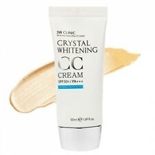 [3W CLINIC] Crystal Whitening CC Cream 50ml SPF50 PA++ [Natural Beige]